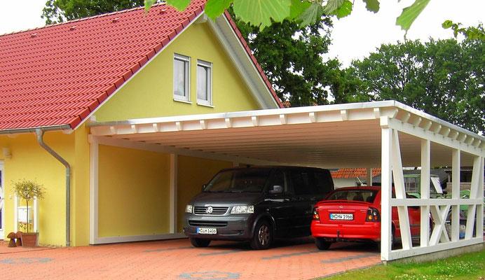Carport mit Flachdach Österreich