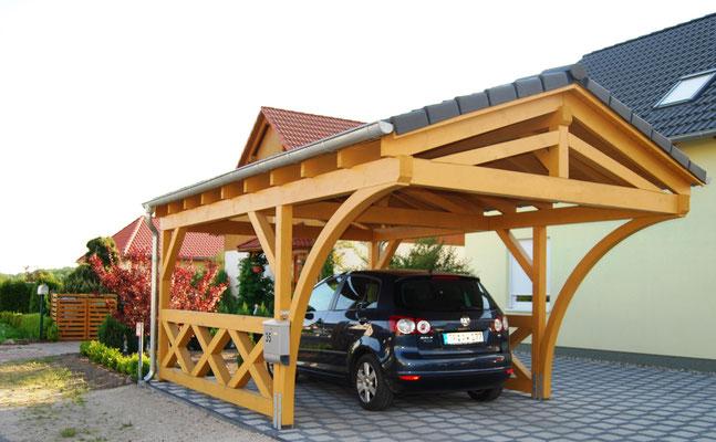 Holz Carport Österreich