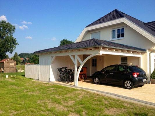 Carport Walmdach Österreich kaufen