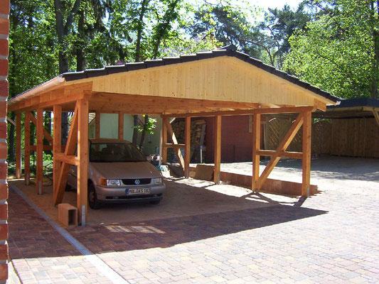 Carport als kompletten Bausatz kaufen